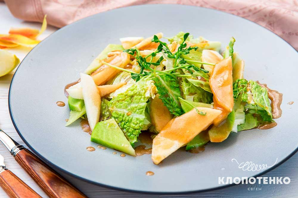 Салат із савойською капустою