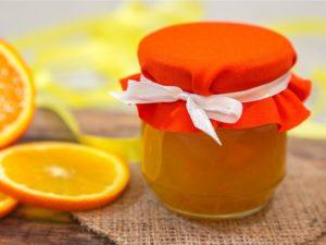 Апельсиновый мармелад с коньяком