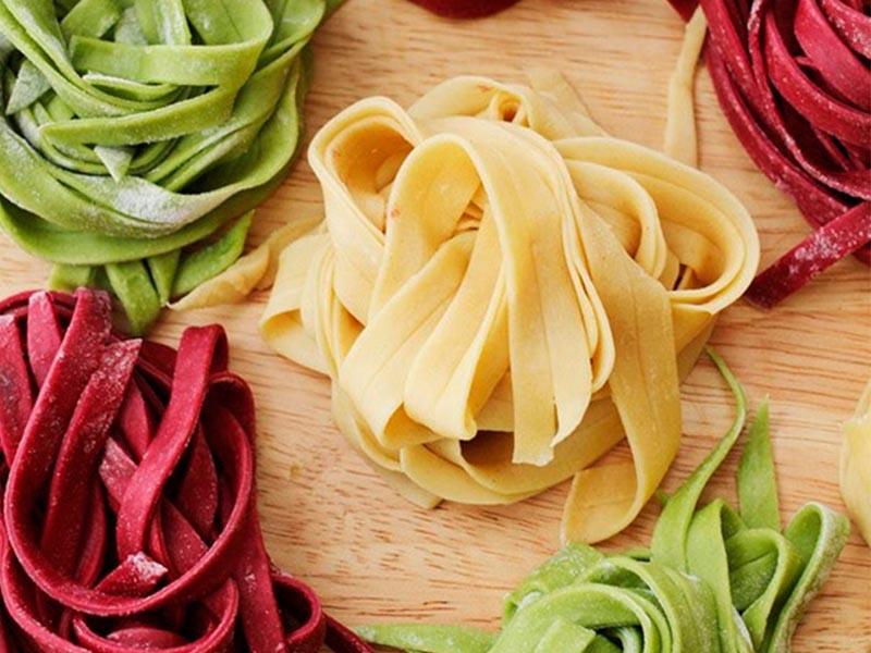 Цветное тесто для макарон