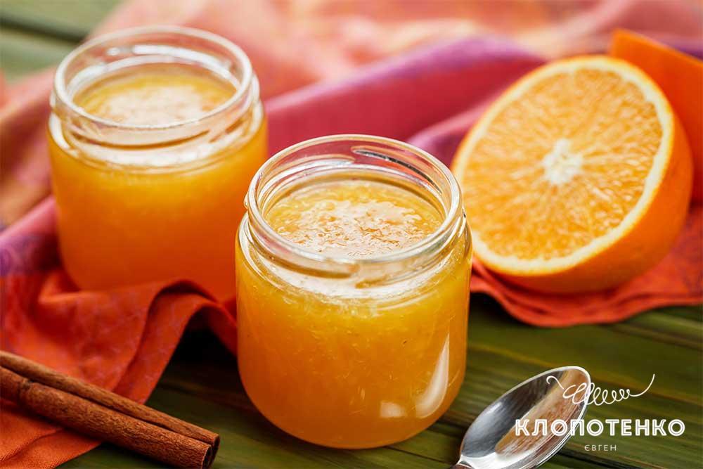 Апельсиновий мармелад з коньяком