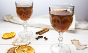 Грог с чаем и коньяком