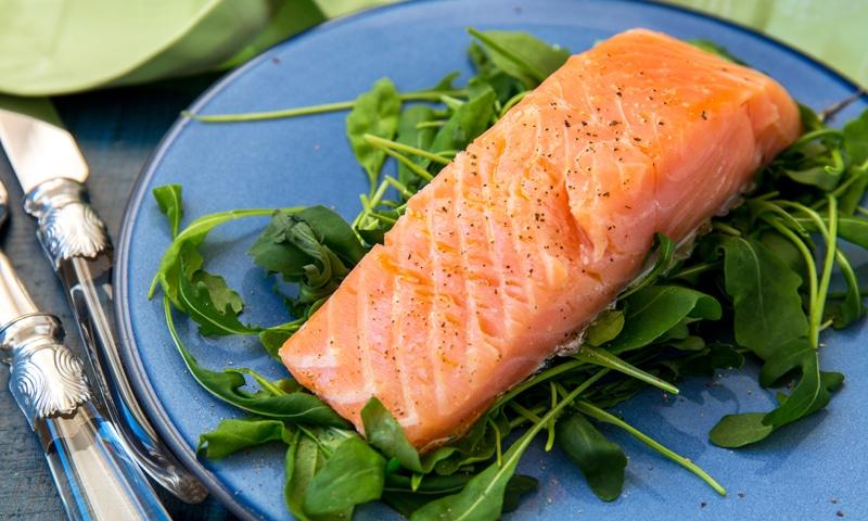 Ферментированный лосось в закваске