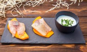Тыква с сельдью – идеальная закуска