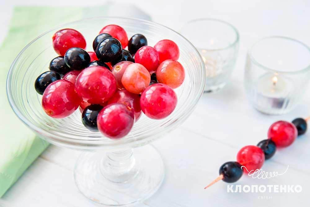 «П'яний» виноград – ідеальний святковий десерт