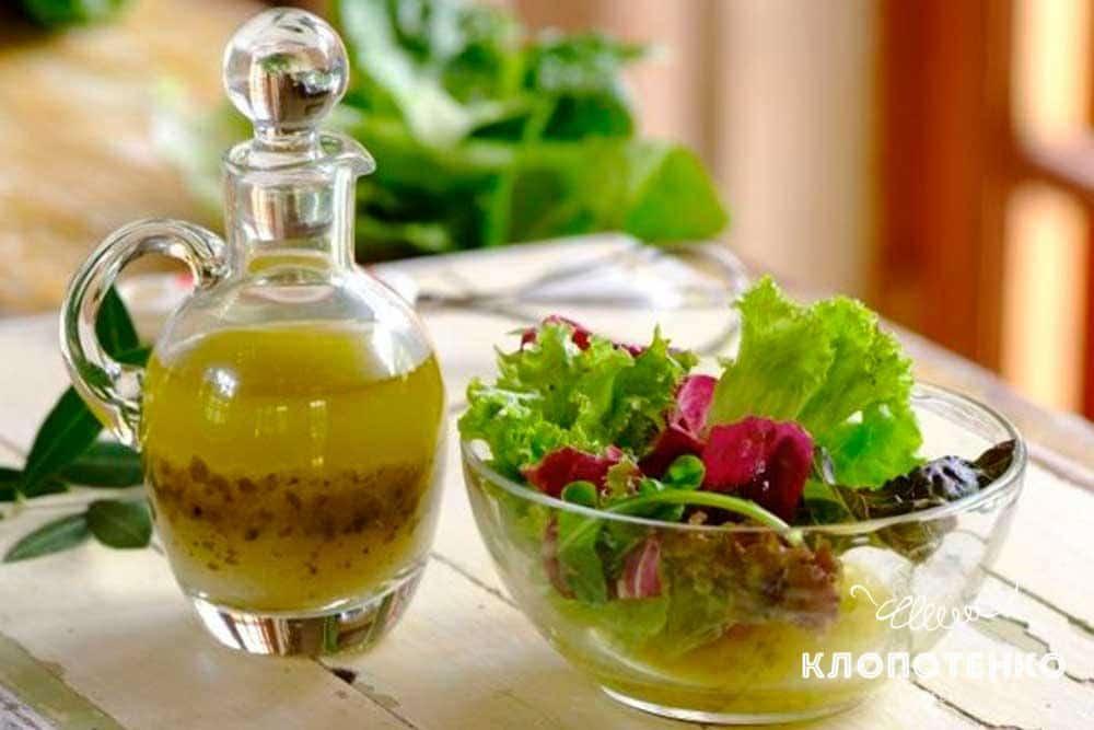 Заправки для салатів: пряна, гостра і ароматна