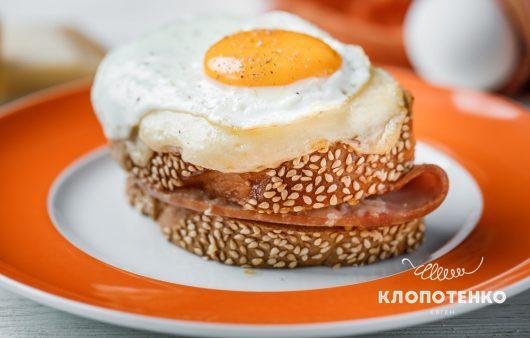 Самый простой и роскошный завтрак. Рецепт сэндвича крок-мадам