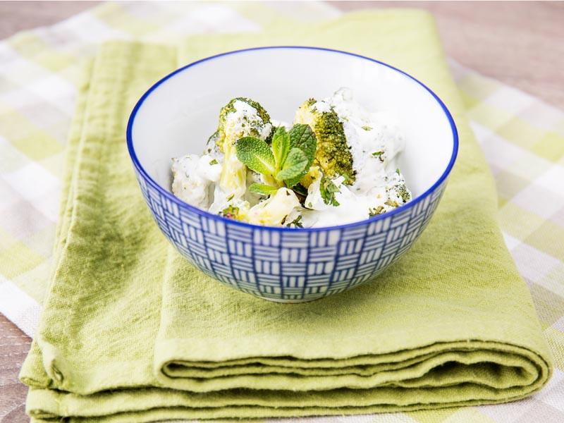 салат с брокколи рецепт