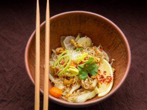 Рисовая лапша по-тайски