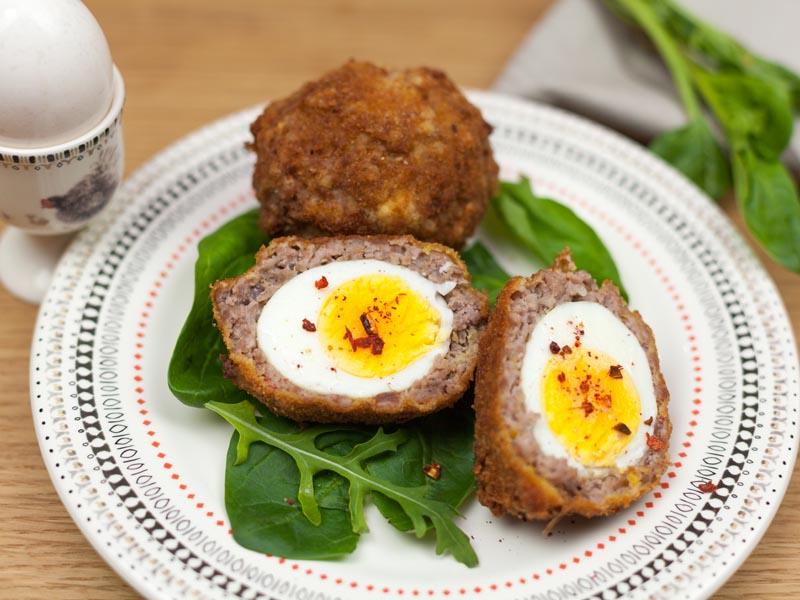 Яйца по-шотландски рецепт