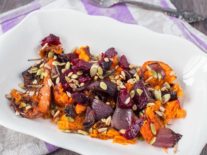 Салат из зимних овощей