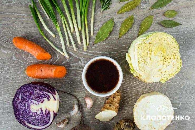 Овощной соус демиглас