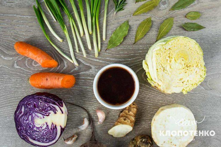 Овочевий соус деміглас
