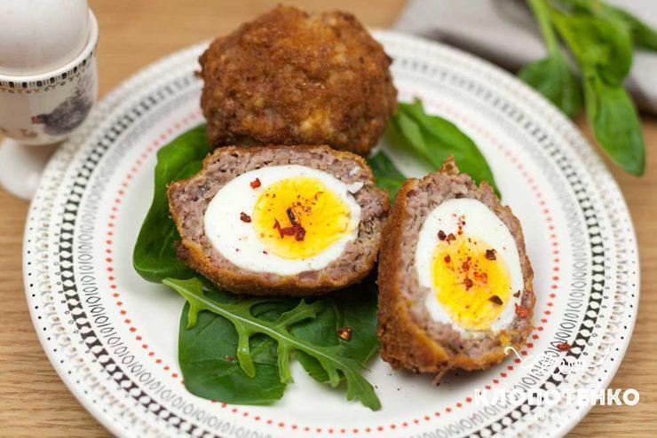 Яйця по-шотландськи рецепт