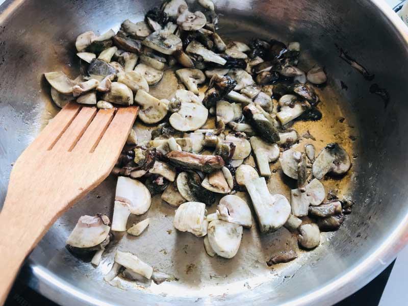 грибы для пасты