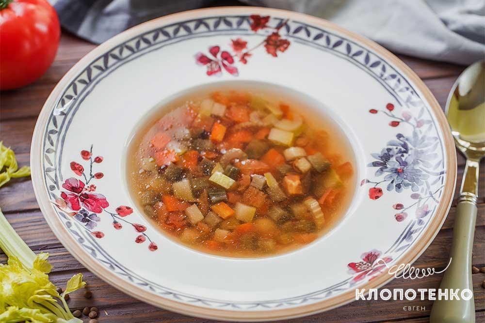 Суп мінестроне
