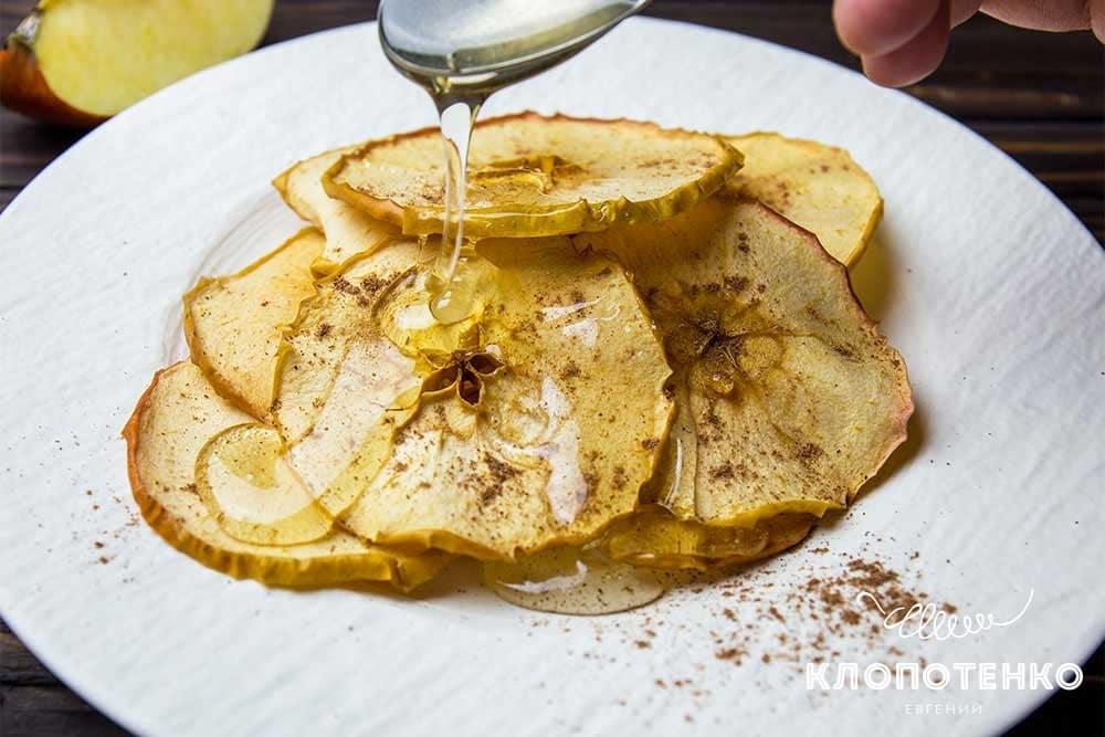 Яблучні чипси