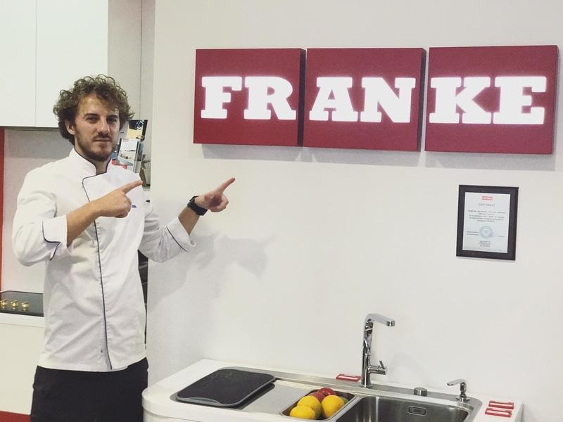 Я стал бренд-амбассадором компании Franke