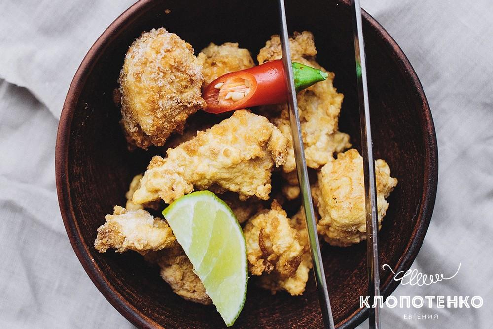 Курица в темпуре
