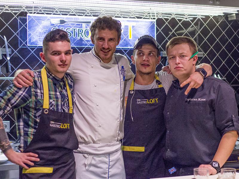 Мастер-класс в кулинарной студии Gastro LOFT