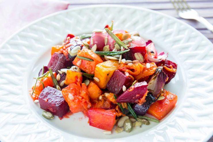 Салат із зимових овочів