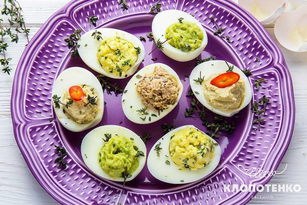 Фаршировані яйця: 4 оригінальних начинки