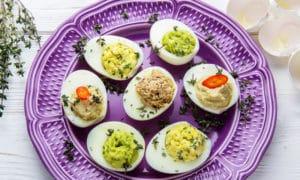 Фаршированные яйца: 4 оригинальных начинки