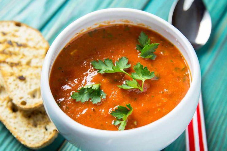 суп гаспачо з запечених овочів