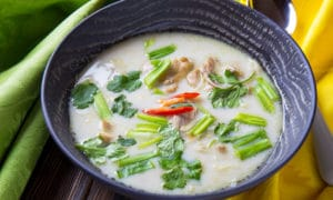 Суп лакса: пикантный вкус Азии