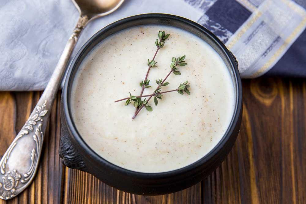 крем-суп з цвітної капусти «Дюбарі»