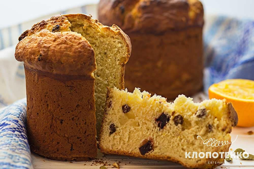 Великодній хліб за маминим рецептом