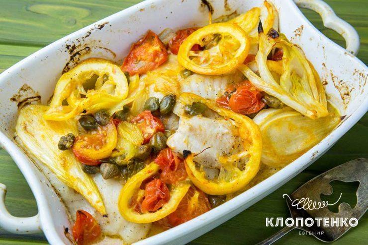 Риба з фенхелем і лимоном