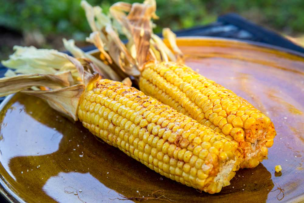 Кукурудза на грилі з паприкою