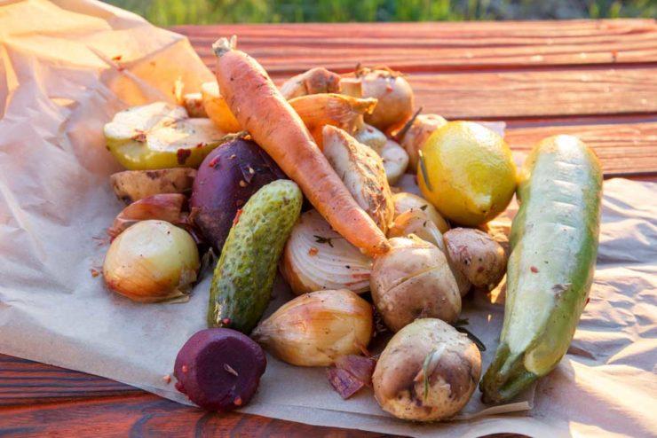 Куранто из овощей