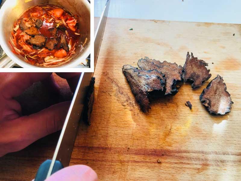 Как приготовить постный борщ с грушей