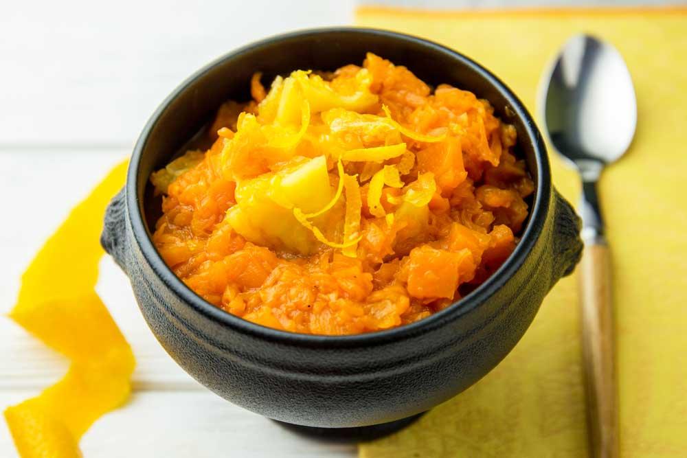Конфітюр з гарбуза з апельсином