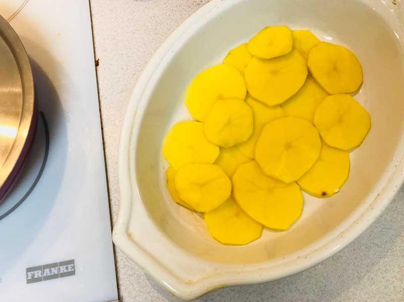 запеканка с картофелем