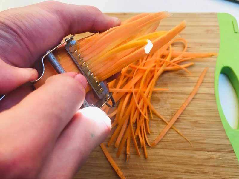 морковь для салата Коул Слоу