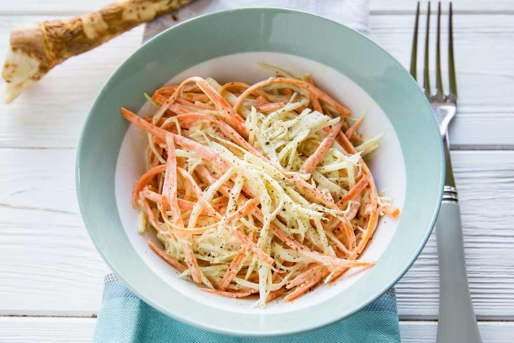 Салат с капустой и морковью Коул Слоу