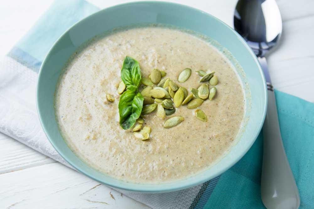 Крем-суп из шампиньонов: простой рецепт