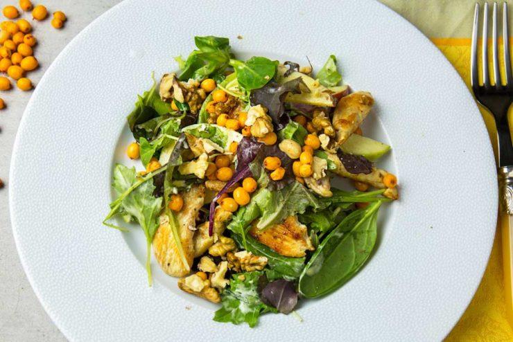 Вальдорфський салат з куркою
