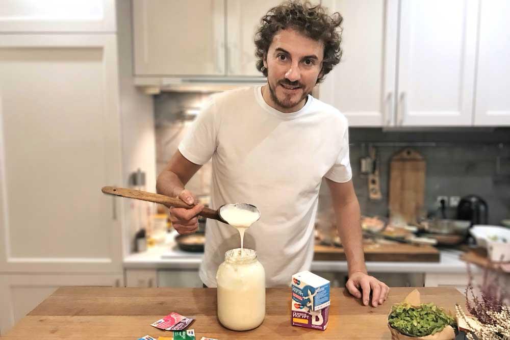 Домашній йогурт VS Магазинний