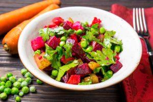 Вінегрет з запечених овочів