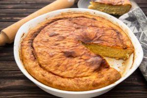 Луковый пирог по маминому рецепту