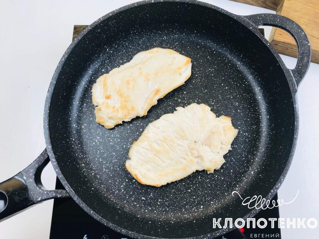 Куриный шницель для бургера