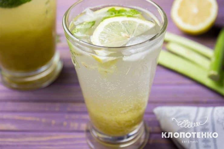 Лимонад из ревеня