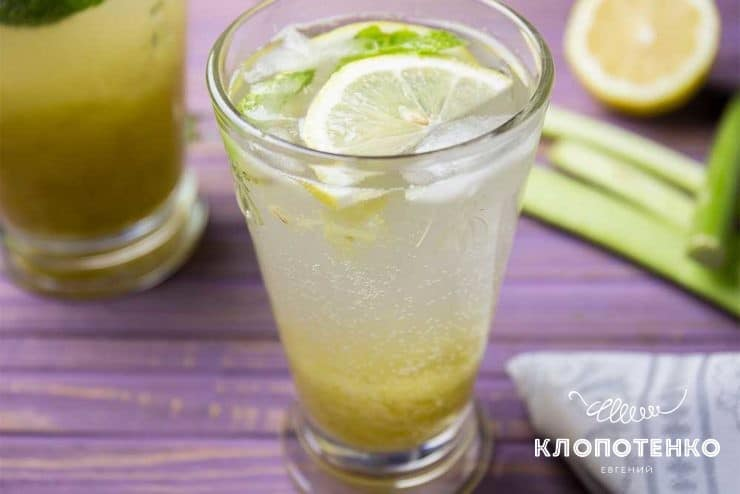 Лимонад з ревеню