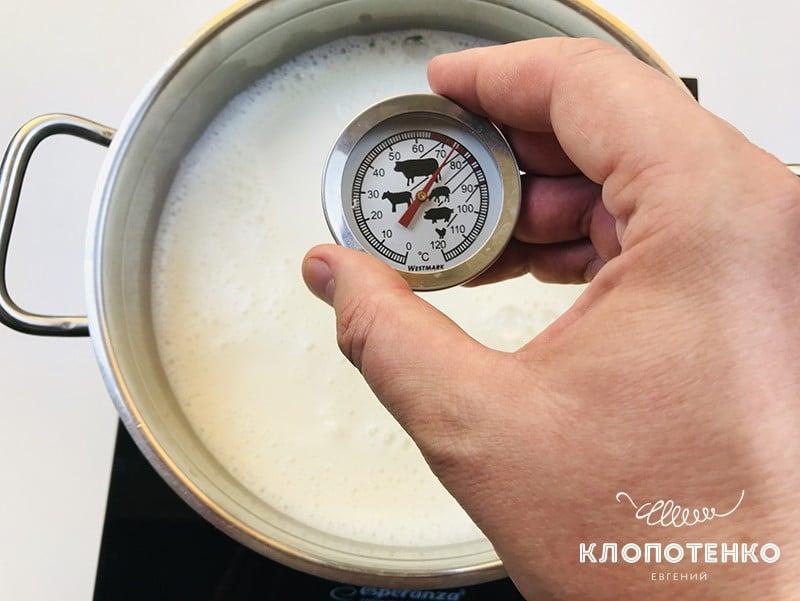 Рецепт домашней рикотты от Клопотенко