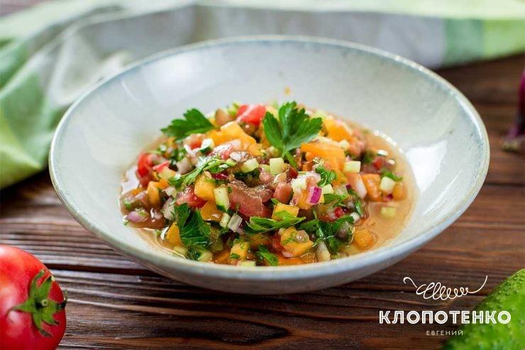 Кашик – овощной салат