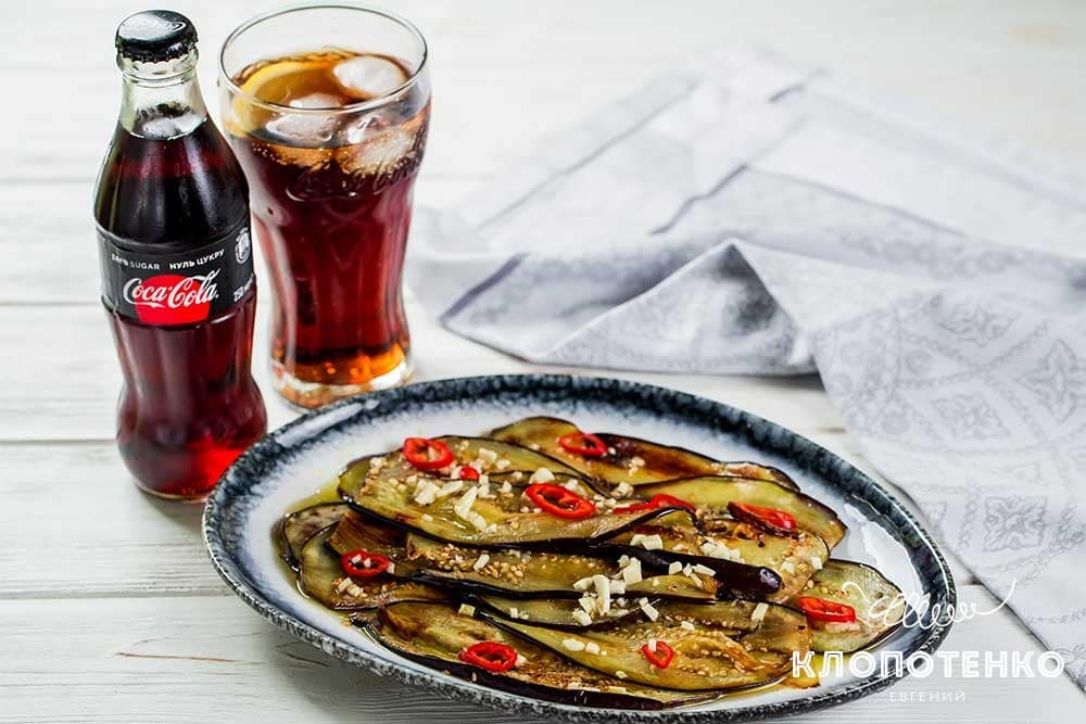 Жаренные баклажаны в маринаде