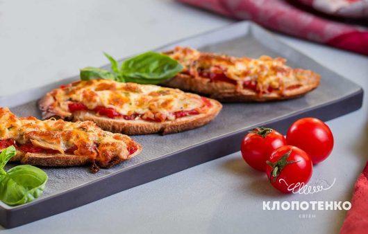 Міні-піци з багета